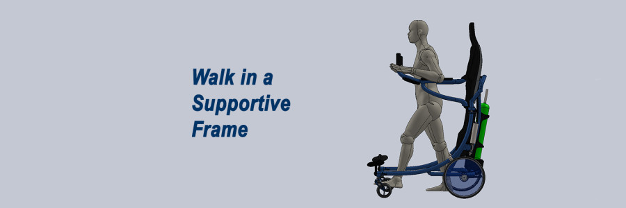 Walking in a Supportive Frame